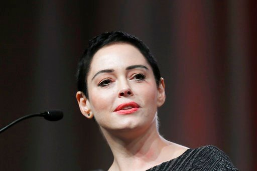 (AP Photo/Paul Sancya, File). FILE- In this Oct. 27, 2017, file photo, actress Rose McGowan speaks at the inaugural Women's Convention in Detroit. Actress and activist McGowan will be the subject of a new documentary TV series. E! said Tuesday, Jan. 2,...