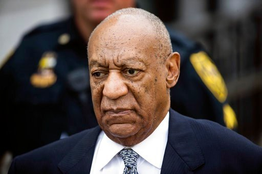 (AP Photo/Matt Rourke, File). FILE- In this Aug. 22, 2017, file photo, Bill Cosby departs after a pretrial hearing in his sexual assault case at the Montgomery County Courthouse in Norristown, Pa. A federal appeals court won't rehear a defamation lawsu...