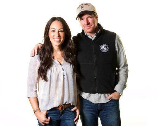 "(Photo by Brian Ach/Invision/AP, File). FILE - In this March 29, 2016, file photo, Joanna and Chip Gaines pose for a portrait in New York to promote their home improvement show, ""Fixer Upper,"" on HGTV. Chip Gaines announced Tuesday, Jan. 2, 2018, on In..."
