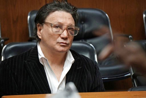 """(Sandor Bodo/Providence Journal via AP, Pool). Vinny Paz appears in court for assault charges on Wednesday, Jan. 3, 2018.   The retired boxing champion whose comeback story after a car crash was dramatized in the 2016 film """"Bleed for This,"""" has been ac..."""
