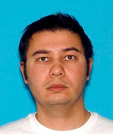 (Douglas County Sheriff via AP). This undated photo released by the Douglas County Sheriff's Office shows Matthew Riehl. The 37-year-old man was shot to death Sunday, Dec. 31, 2017, after shooting at the deputies, killing one. Authorities in suburban D...