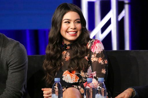 """(Photo by Willy Sanjuan/Invision/AP). Auli'i Cravalho participate in the """"Rise"""" panel during the NBCUniversal Television Critics Association Winter Press Tour on Tuesday, Jan. 9, 2018, in PAsadena, Calif."""