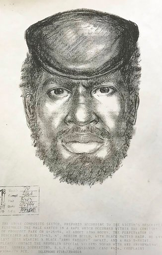 (New York City Police Department via AP). This 1994 sketch provided by the New York City police Department shows James Edward Webb, a serial rapist serving 75 years to life in prison. Police say they have new DNA tests linking Webb with the 1994 rape o...