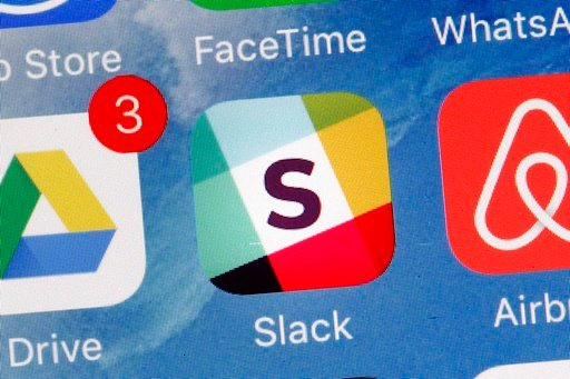 """(AP Photo/Mark Lennihan, File). FILE - In this Tuesday, Jan. 31, 2017, file photo, the Slack app is displayed on a mobile phone in New York. Slack experienced a widespread outage, Tuesday, Jan. 9, 2018. Slack said it had """"connectivity issues"""" but gave ..."""