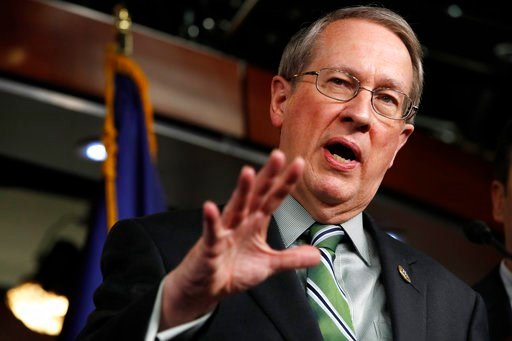 (AP Photo/Jacquelyn Martin). House Judiciary Committee Chairman Rep. Bob Goodlatte, R-Va., speaks about immigration, Wednesday, Jan. 10, 2018, on Capitol Hill in Washington.