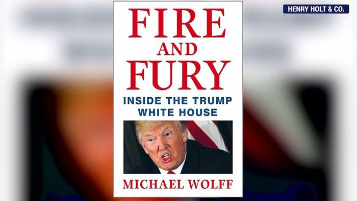 North Korea has found good material to attack President Donald Trump: Michael Wolff's bombshell new book, 'Fire and Fury.' (Henry Holt & Co./CNN)