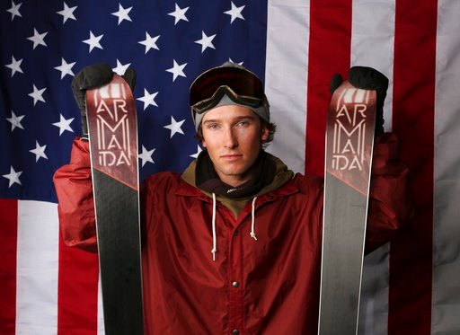(AP Photo/Rick Bowmer, File). FILE - In this Tuesday, Sept. 26, 2017, file photo, halfpipe skier Torin Yater-Wallace poses for a portrait at the U.S. team media summit in Park City, Utah. In spite of many obstacles in his life, Yater-Wallace is on the ...