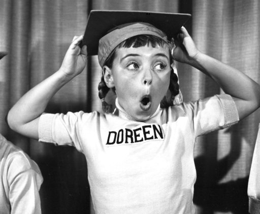 "(Disney via AP). This undated photo released by Disney, shows Disney Mouseketeer Doreen Tracey. Tracey, a former child star who played one of the original cute-as-a-button Mouseketeers on ""The Mickey Mouse Club"" in the 1950s, died from pneumonia on Wed..."