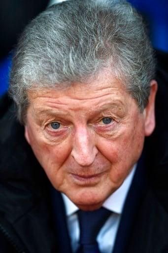 (Daniel Hambury/PA via AP). Crystal Palace manager Roy Hodgson before the English Premier League soccer match against Burnley at Selhurst Park, London, Saturday Jan. 13, 2018.
