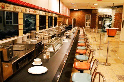 (AP Photo/Skip Foreman, File). FILE - In this Sept. 16, 2016, file photo the F.W. Woolworth's lunch counter is seen at the International Civil Rights Center & Museum in Greensboro, N.C. The site is among about 130 locations in 14 states being promo...