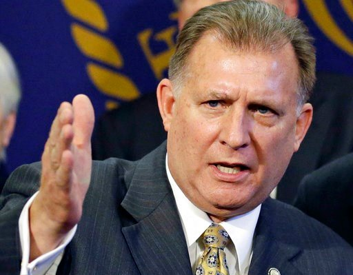 (AP Photo/Rick Bowmer, File). FILE - In this March 2, 2014, file photo, Sen. Curt Bramble, R- Provo, speaks during a news conference at the Utah State Capitol, in Salt Lake City, Utah.  Abortion policy has been a hot topic in state legislative sessions...