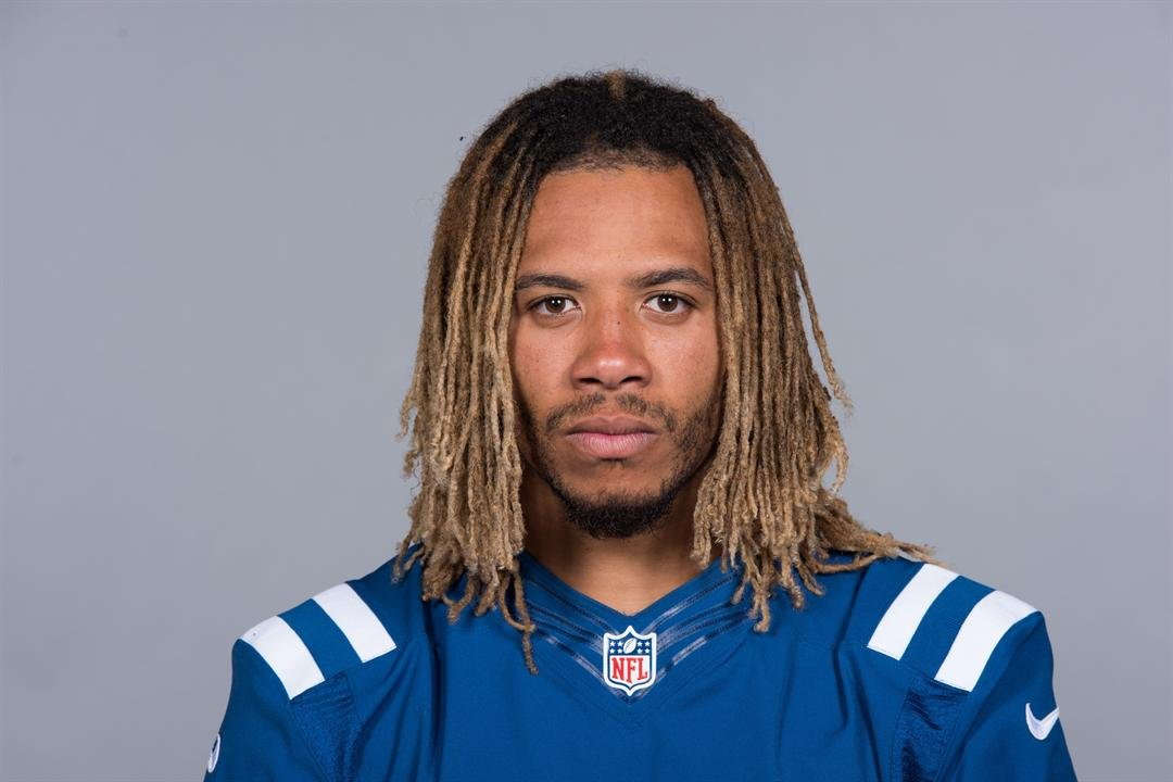 This is a 2017 photo of Edwin Jackson of the Indianapolis Colts NFL football team. (Source: Associated Press)