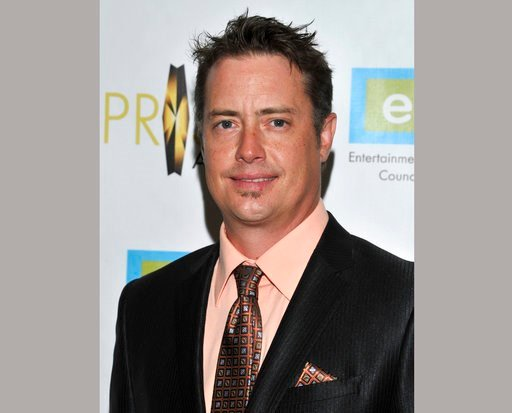 """(Photo by Vince Bucci/Invision/AP, File). FILE - In this April 25, 2013 file photo, actor Jeremy London arrives at the 17th Annual Prism Awards Ceremony in Beverly Hills, Calif. Authorities say the """"Mallrats"""" and """"7th Heaven"""" actor was arrested in Miss..."""