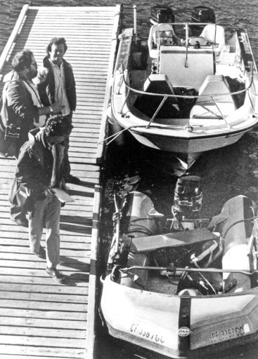 "(AP Photo/Paul J. Harrington, File). FILE - This Nov. 30, 1981 file photo shows the ""Prince Valiant,"" the inflatable dinghy used by Natalie Wood, moored at the harbor in Avalon, Calif., after it washed up on the rocks on Santa Catalina Island. Patrolme..."