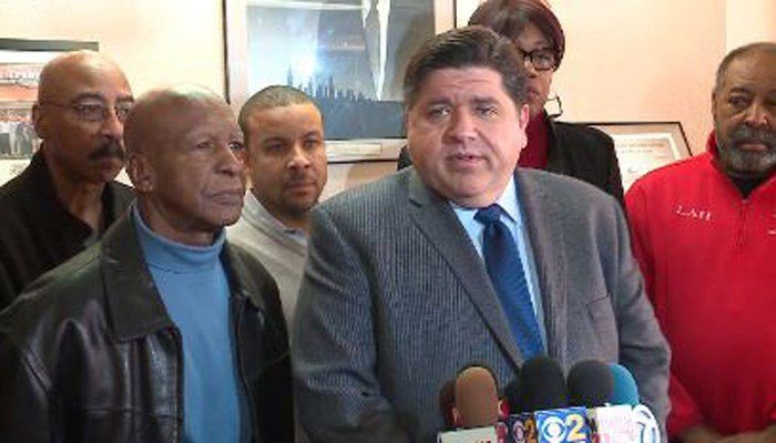 Newly released FBI wiretaps captured Democratic Illinois governor candidate J.B. Pritzker making racially insensitive comments during a call with then-Gov. Rod Blagojevich. (Source: WGN/CNN)