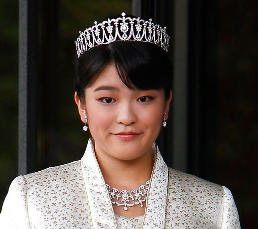(AP Photo/Shizuo Kambayashi, File). FILE - In this Oct. 23, 2011, file photo, Japan's Princess Mako, the first daughter of Prince Akishino and Princess Kiko, poses for photos at Imperial Palace in Tokyo. According to Japanese media, the Imperial Househ...