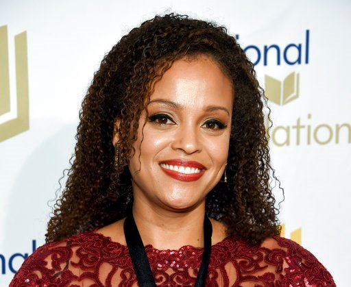 (Photo by Evan Agostini/Invision/AP, File). FILE - In this Nov. 15, 2017 file photo, author Jesmyn Ward attends the 68th National Book Awards Ceremony and Benefit Dinner in New York. Scribner told The Associated Press that Ward will write an adult nove...