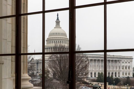 (AP Photo/J. Scott Applewhite). The Capitol is seen in Washington, Wednesday, Feb. 7, 2018. Democrats head into the midterm elections with an energized party base, an unpopular president and a growing wave of GOP retirements. But as they gather on Mary...