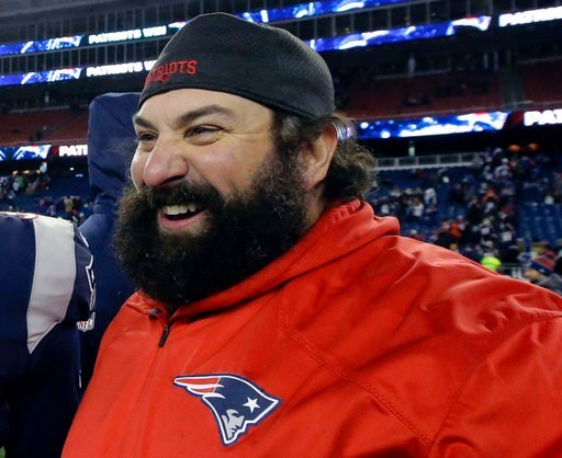 (AP Photo/Steven Senne, File). FILE - In this Jan. 13, 2018, file photo, New England Patriots defensive coordinator Matt Patricia leaves the field after an NFL divisional playoff football game against the Tennessee Titans in Foxborough, Mass. The Detro...