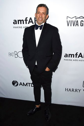 (Photo by Jordan Strauss/Invision/AP, File). FILE - In this Oct. 13, 2017 file photo, Kenneth Cole attends the 2017 amfAR Inspiration Gala Los Angeles in Beverly Hills, Calif.  The group's board of trustees says Cole and several other trustees agreed t...