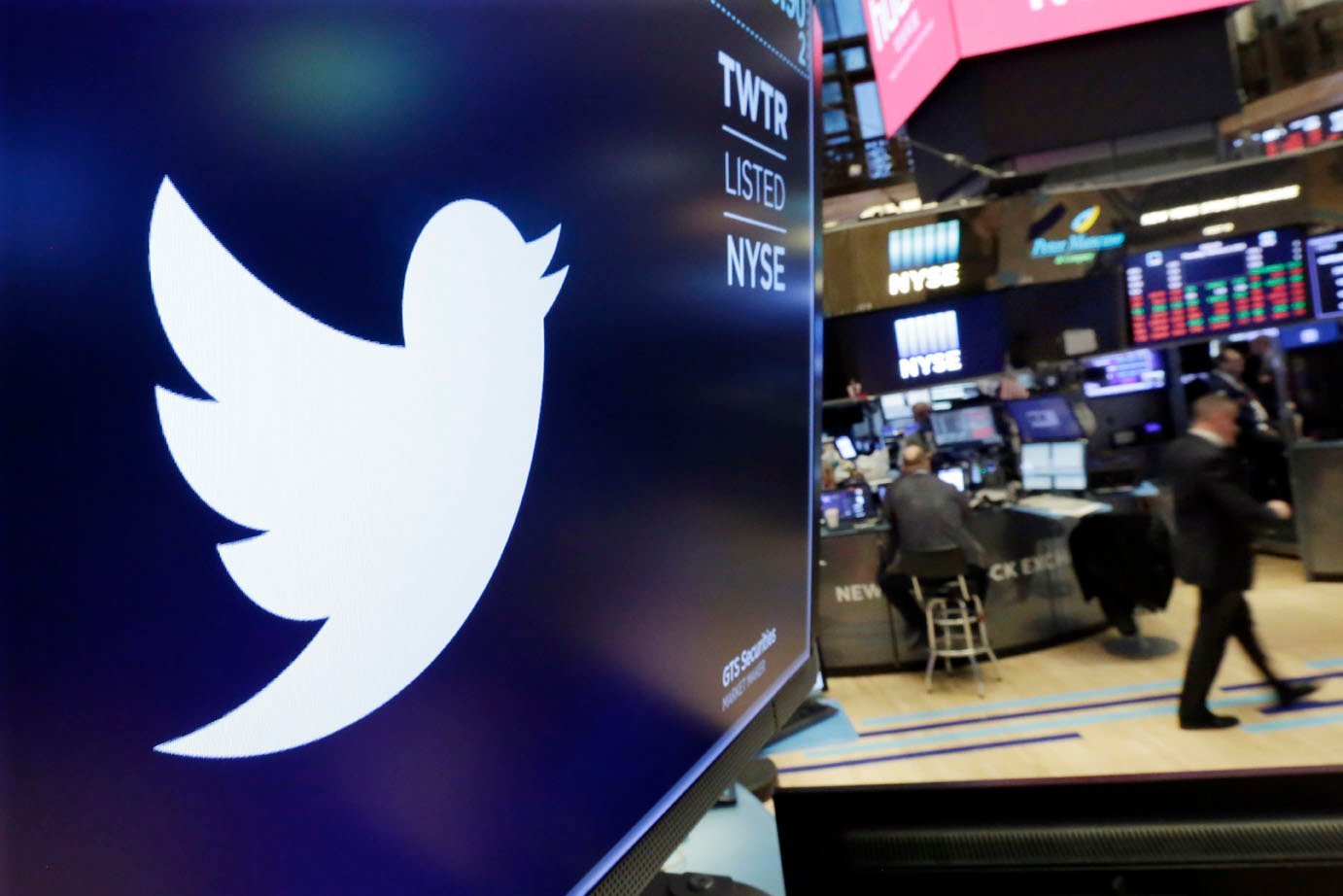 Twitter made money for the first time in its nearly 12-year history, a milestone that satisfied investors in the short term but might not resolve the company's broader problems any time soon. (Source: AP Photos)