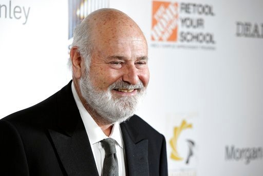 (Photo by Chris Pizzello/Invision/AP). Filmmaker Rob Reiner, recipient of the Stanley Kramer Award for Social Justice, poses at the 9th Annual African American Film Critics Association Awards on Wednesday, Feb. 7, 2018, in Los Angeles.