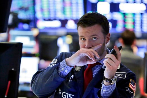 (AP Photo/Richard Drew). Trader Frank Masiello works on the floor of the New York Stock Exchange, Friday, Feb. 9, 2018. Stocks staged a late rally Friday, ending a wild week marked by dramatic point swings on a positive note.