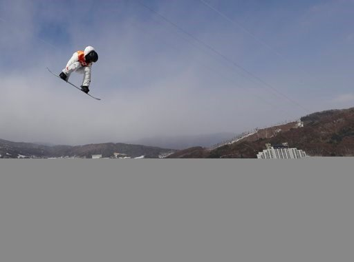 (AP Photo/Gregory Bull). Shaun White, of the United States, during the men's halfpipe qualifying at Phoenix Snow Park at the 2018 Winter Olympics in Pyeongchang, South Korea, Tuesday, Feb. 13, 2018.