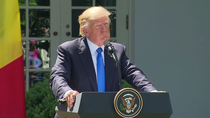 President Donald Trump is touting his proposals on immigration as it faces an uphill battle in Congress. (Source: CNN)