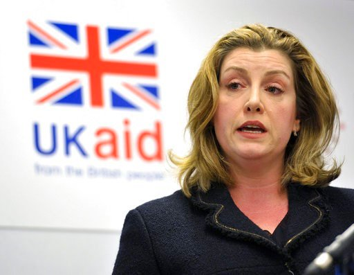 (Nick Ansell/PA  File via AP). FILE - This is a Nov. 30, 2017 file photo of Britain's International Development Secretary Penny Mordaunt. Oxfam's deputy chief executive  Monday Feb. 12, 2018  resigned amid the scandal involving sex abuse in Haiti after...