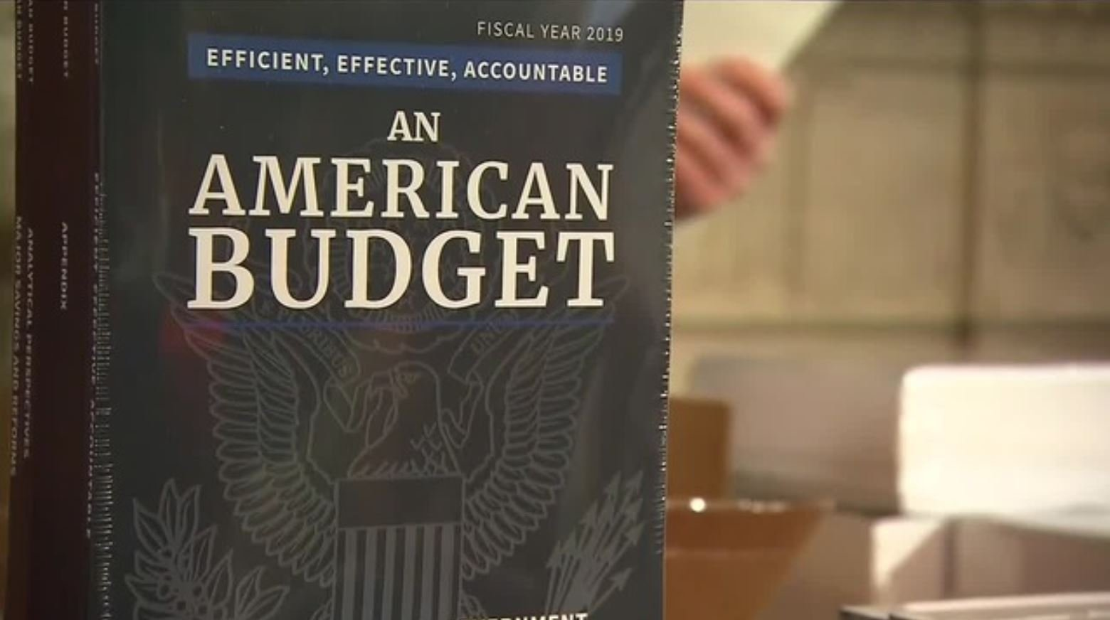 The White House unveiled its proposed budget for the 2019 fiscal year on Monday, Feb. 12. (Source: CNN)