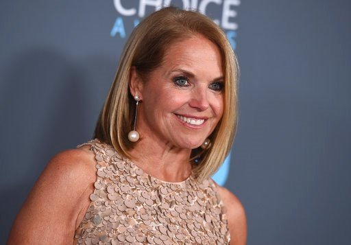 (Photo by Jordan Strauss/Invision/AP, File). FILE - In this Jan. 11, 2018 file photo, Katie Couric poses in the press room at the 23rd annual Critics' Choice Awards in Santa Monica, Calif. Couric has apologized for comments that she made during NBC's c...