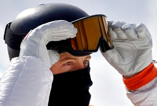(AP Photo/Lee Jin-man). Shaun White, of the United States, looks at his score during the men's halfpipe qualifying at Phoenix Snow Park at the 2018 Winter Olympics in Pyeongchang, South Korea, Tuesday, Feb. 13, 2018.