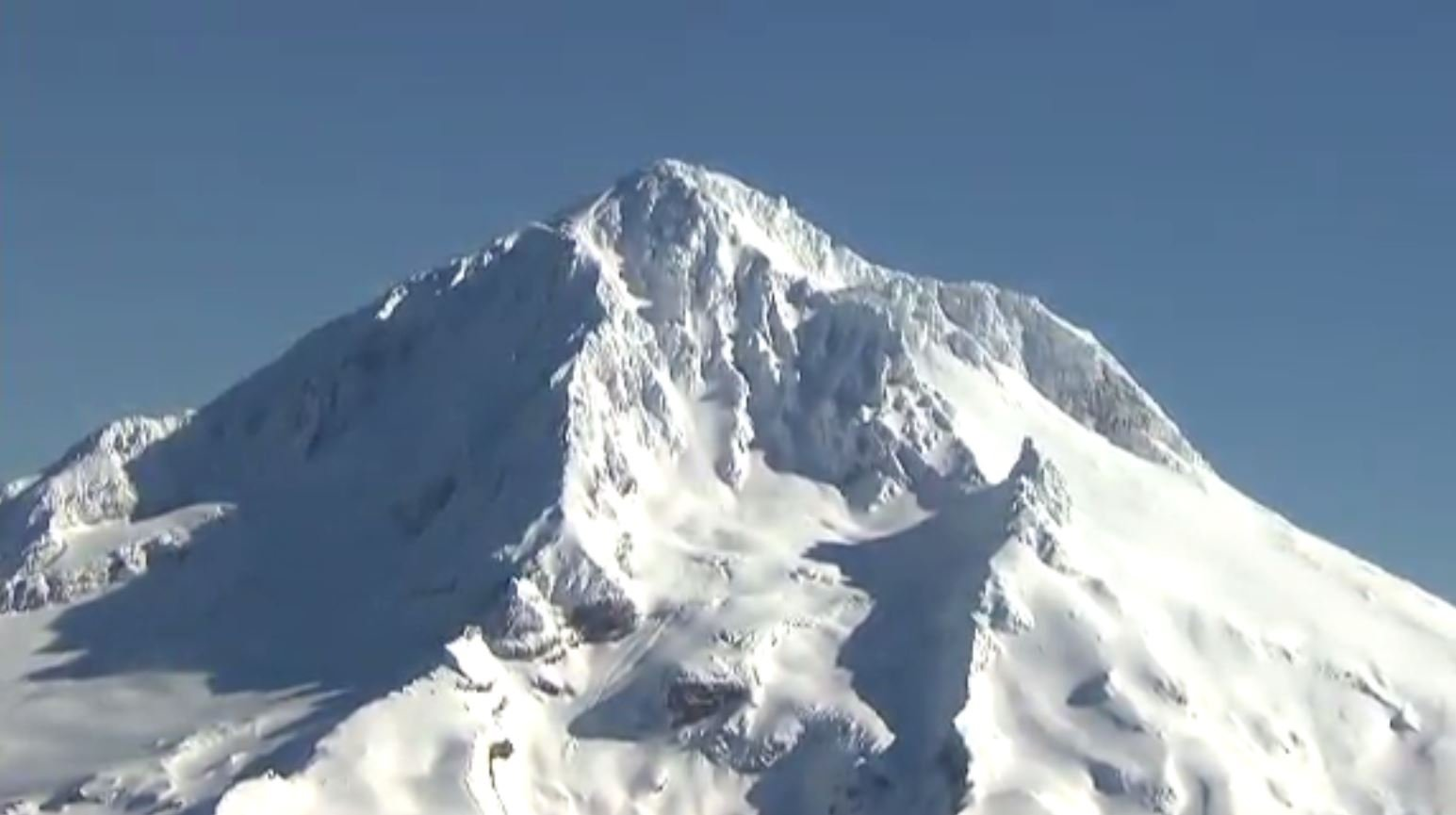 Search and rescue teams responded to climbers in distress Tuesday on Mt. Hood. One climber was pronounced dead at a local hospital. (Source: KPTV/CNN)