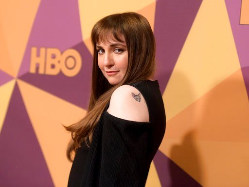 (Photo by Richard Shotwell/Invision/AP, File). FILE - In this Jan. 7, 2018 file photo, Lena Dunham arrives at the HBO Golden Globes afterparty in Beverly Hills, Calif. Dunham has written an incredibly personal essay about coming to terms with permanent...