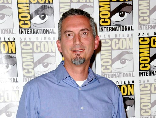 "(Photo by Richard Shotwell/Invision/AP, File). FILE - In this July 11, 2015 file photo, James Dashner, author of ""Maze Runner"" attends the 20th Century Fox press line at Comic-Con International in San Diego. Dashner has been dropped by his literary age..."