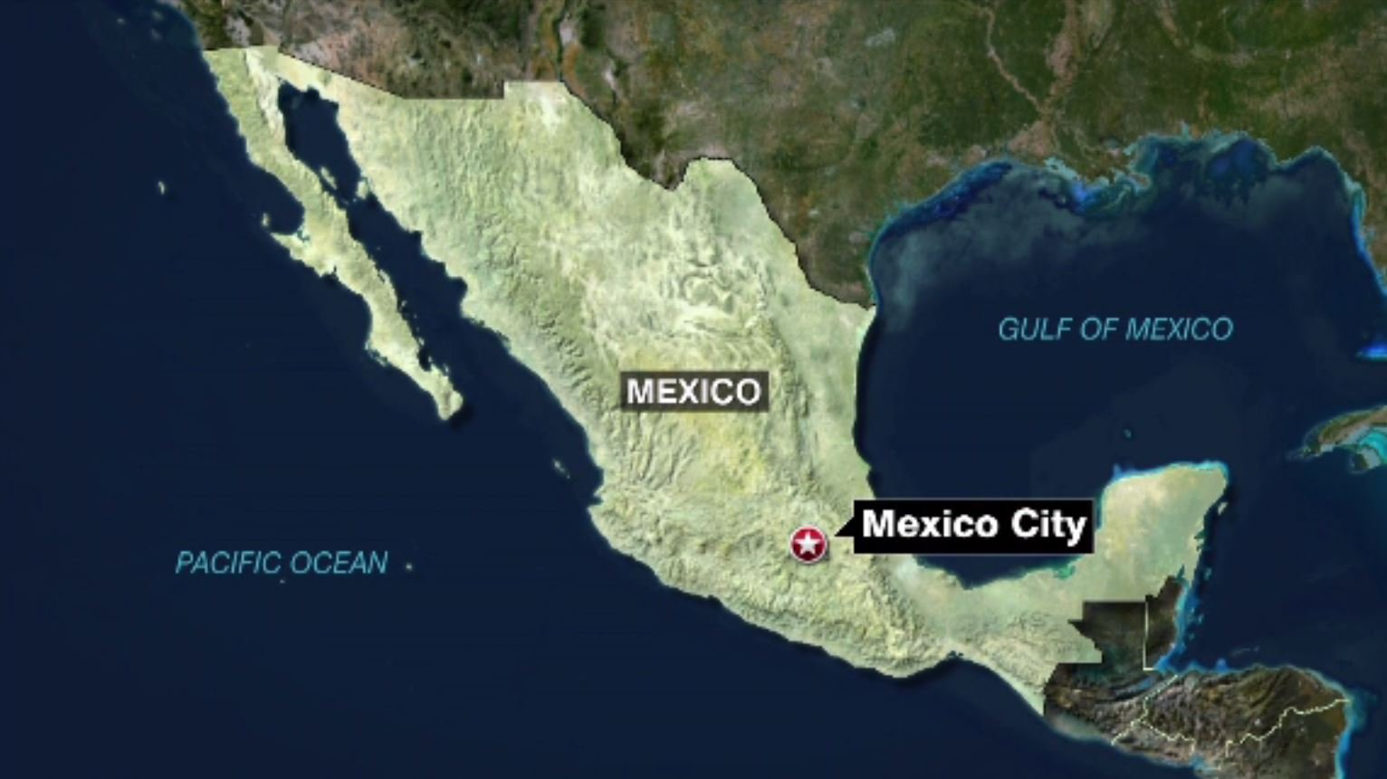 USGS reported a 7.2 magnitude earthquake in the state of Oaxaca in Mexico on Friday, Feb. 16. (Source: CNN/FOROtv)