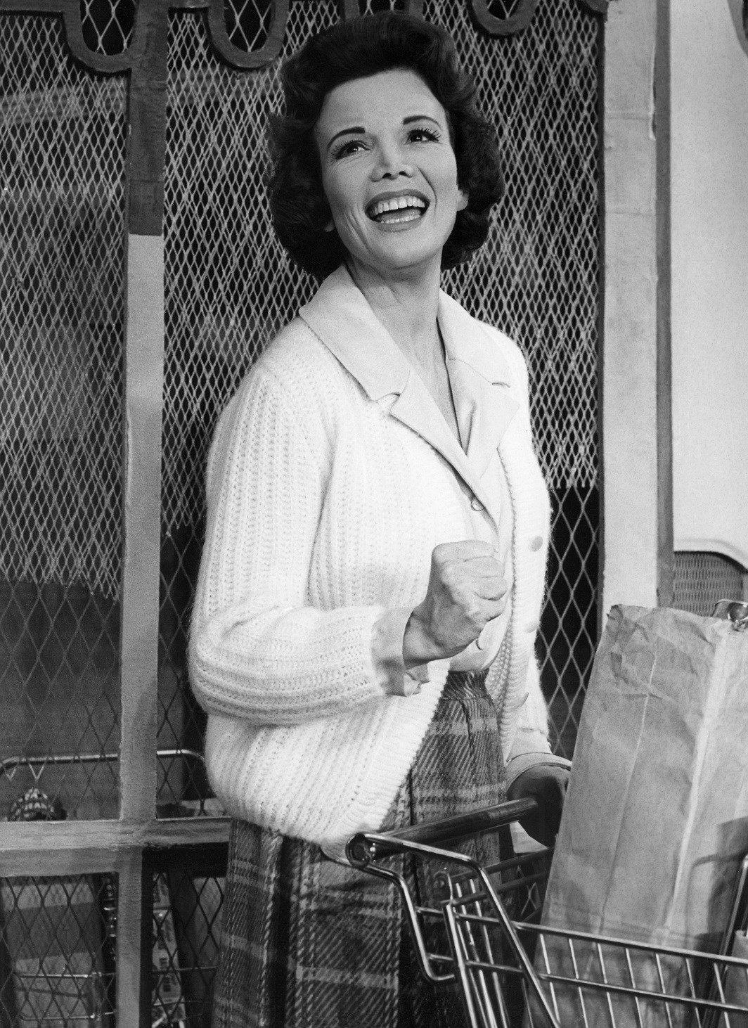 """Nanette Fabray, seen here performing in the Irving Berlin musical """"Mr. President"""" in 1962, had a long career as an actress, singer and dancer. She died on Thursday, Feb. 22, at the age of 97. (Source: Associated Press)"""