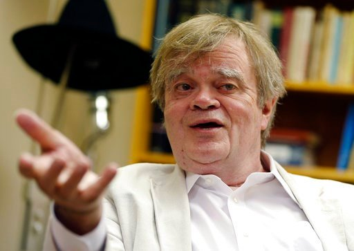 """(AP Photo/Jim Mone, File). FILE - In this July 20, 2015, file photo, Garrison Keillor, creator and host of """"A Prairie Home Companion,"""" appears during an interview in St. Paul, Minn.  The former radio host said he hopes the sexual allegations against hi..."""