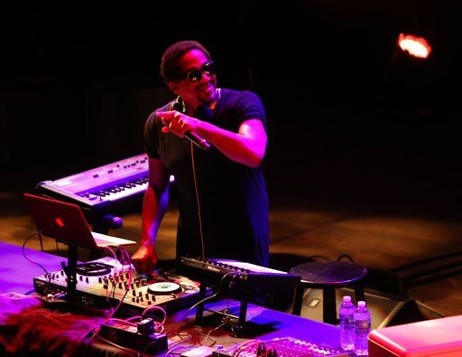 (Jati Lindsay/Kennedy Center via AP). This Oct. 6, 2017 photo provided by the Kennedy Center, shows Q-Tip performing at the Kennedy Center in Washington.  Long considered a bastion of upper-class white elitism, the Kennedy Center is making an overt pla...