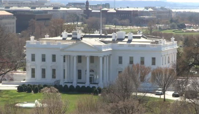 The White House press secretary said the president has been briefed. (Source: Pool/CNN)