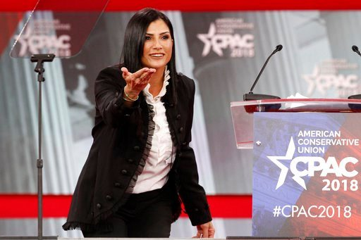 (AP Photo/Jacquelyn Martin). FILE - In this Feb. 22, 2018, photo, Dana Loesch, spokeswoman for the National Rifle Association, speaks at the Conservative Political Action Conference (CPAC), at National Harbor, Md. They're the silent majority -- most Re...