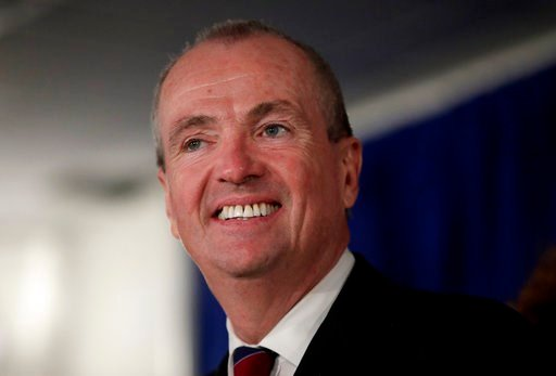 (AP Photo/Julio Cortez, File). FILE - In this Jan. 16, 2018, file photo, New Jersey Gov. Phil Murphy speaks before signing the first executive order of his administration in Trenton, N.J. Democratic officials in some high-tax states are pushing legisla...