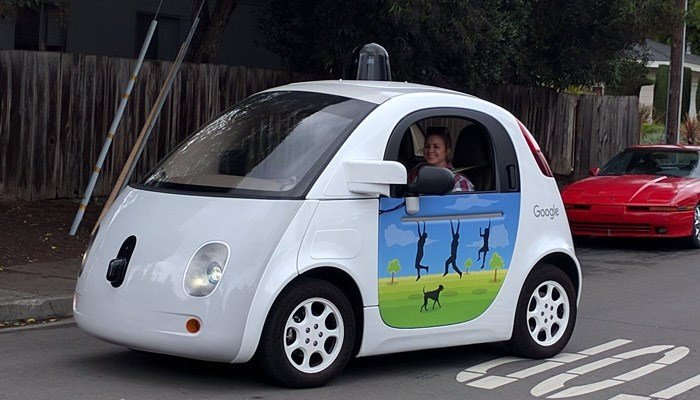 Some people in California have taken their anger out on driverless cars. (Source: Grendelkhan/Wikicommons)