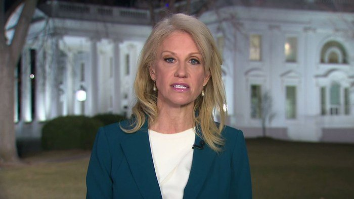 A federal watchdog office says White House counselor Kellyanne Conway violated the federal law prohibiting government officials from using their positions to influence political campaigns. (Source: CNN)