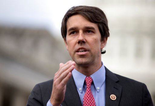 (AP Photo/Carolyn Kaster, File). In this Feb. 27, 2013, file photo, Rep. Beto O'Rourke, D-Texas speaks during a news conference on Capitol Hill in Washington.