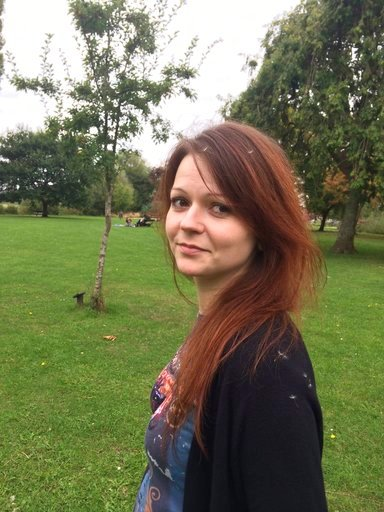 (Yulia Skripal/Facebook via AP). This is an alleged  image of the daughter of former Russian Spy Sergei Skripal,  Yulia Skripal taken from Yulia Skipal's Facebook account on Tuesday March 6, 2018. British counterterrorism police said Tuesday that they ...