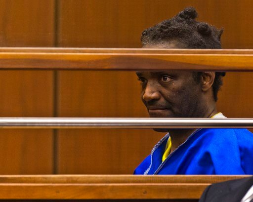 (AP Photo/Damian Dovarganes). Terry Bryant appears in Los Angeles Superior Court Wednesday, March 7, 2018. Bryant, who is charged with stealing Frances McDormand's best actress Oscar will be released on his own recognizance. Bryant pleaded not guilty t...