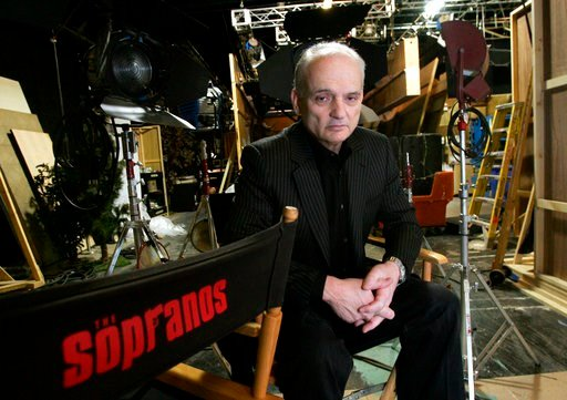 """(AP Photo/Diane Bondareff, File). FILE - In this March 3, 2006 file photo, David Chase, creator and producer of the hit HBO series """"The Sopranos,"""" poses on a set in the Queens borough of New York. Warner Bros. Pictures says Thursday that New Line has p..."""