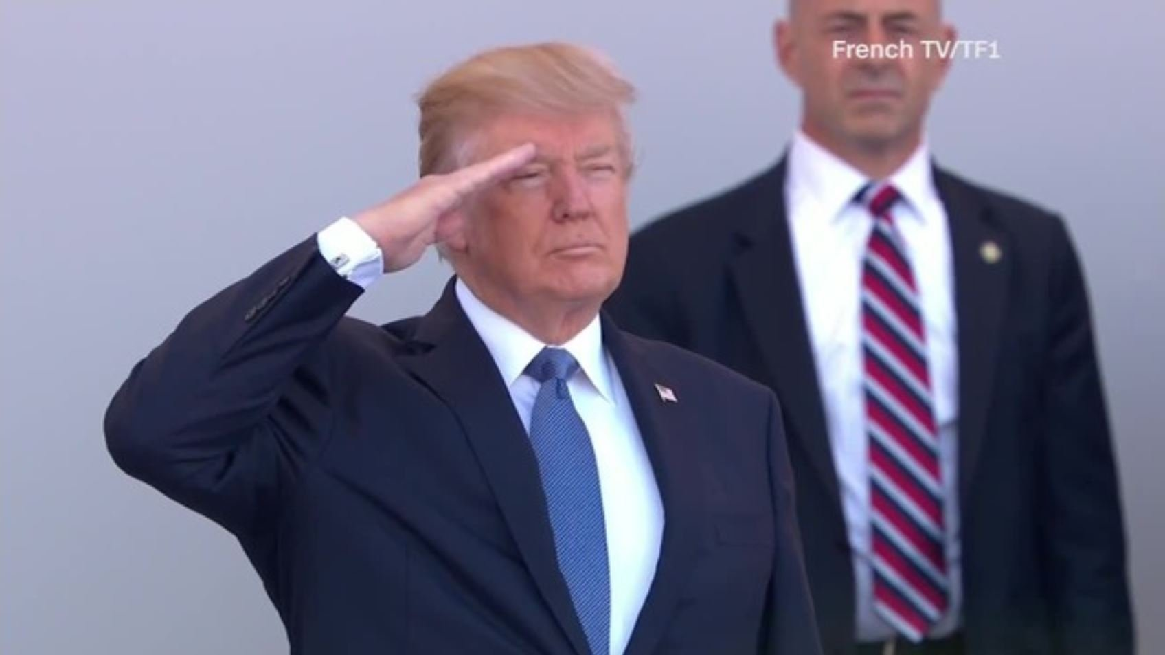 The Pentagon has issued a memo outlining guidance for the military parade President Donald Trump asked for. (Source: FRENCHTV/TF1/CNN)